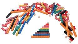 Пръчици на Кюизинер - Образователни играчки в памучна торбичка -