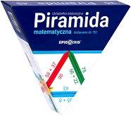 Математическа пирамида - Събиране и изваждане - Образователен комплект - играчка