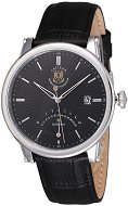 Часовник KronSegler - Sacristan S700 Steel Black