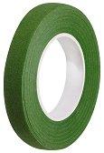 Цветно тиксо от креп хартия - зелено