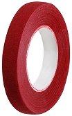 Цветно тиксо от креп хартия - червено - Широчина 1.2 cm