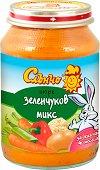 Слънчо - Пюре от зеленчуков микс - продукт