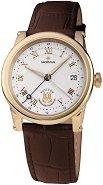 Часовник KronSegler - Sacristan S701 Gold White