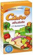 Инстантна млечна каша - Ябълка - Опаковка от 200 g за бебета над 4 месеца - пюре