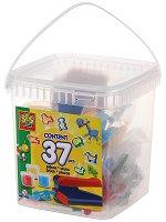 Моделирай с преса и формички - Творчески комплект с моделин в кутия - детски аксесоар