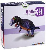 Направи сам динозавър - Детски еко конструктор -