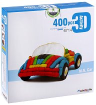 Направи сам кола - Детски еко конструктор - играчка