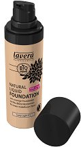 Lavera Natural Liquid Foundation - Натурален течен фон дьо тен - крем