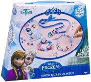 """Създай сама - Бижута - Творчески комплект от серията """"Замръзналото кралство"""" - играчка"""