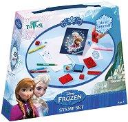"""Печати - Творчески комплект от серията """"Замръзналото кралство"""" - играчка"""