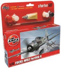 Военен самолет - Focke-Wulf Fw190A-8 - макет