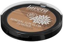 Бронзираща пудра за лице - Lavera Mineral Sun Glow Duo - Със светлоотразителни пигменти - лакочистител