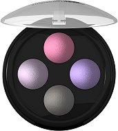 Lavera Illuminating Quattro Eyeshadow - Палитра с 4 цвята сенки за очи - крем