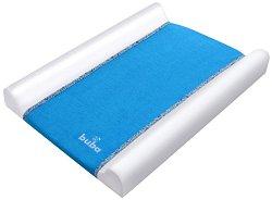 Бебешки повивалник - Fluffy - Цвят син с размер 70 / 50 / 9 cm -