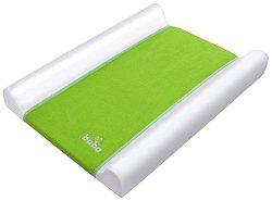 Бебешки повивалник - Fluffy - Цвят зелен с размер 70 / 50 / 9 cm -