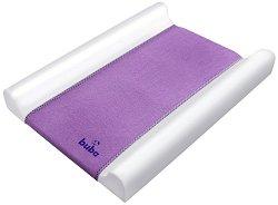 Бебешки повивалник - Fluffy - Цвят лилав с размер 70 / 50 / 9 cm - продукт