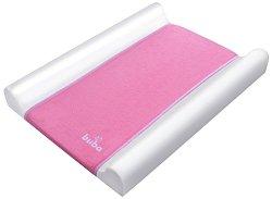 Бебешки повивалник - Fluffy - Цвят розов с размер 70 / 50 / 9 cm -