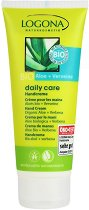 Крем за ръце с алое вера и върбинка - За суха и деликатна кожа от серията Logona Daily Care - сапун