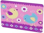 """Допълнителни плаки - Birds - Комплект от 4 броя за детска нощна лампа от серията """"Creative"""" -"""