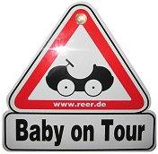 Табела с надпис - Бебе в колата - Аксесоар за автомобил -