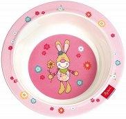 Меламинова купичка за хранене - Bunge Bunny - За бебета над 6 месеца -