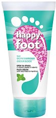 Happy Foot Odor Block Active Fresh Foot Cream - Крем за крака при остри миризми с чаено дърво и мента - лак