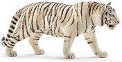"""Бял тигър - Фигура от серията """"Животни от дивия свят"""" - количка"""