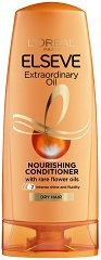 Elseve Extraordinary Oil - Подхранващ балсам за суха коса - продукт