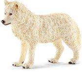 """Полярен вълк - Фигура от серията """"Животни от дивия свят"""" - фигура"""