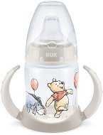 Неразливаща се чаша със силиконов накрайник и дръжки - 150 ml - За бебета над 6 месеца -