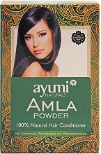 Амла на прах - Подхранваща грижа за косата и скалпа - ластик