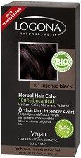 Logona Herbal Hair Color - Био растителна боя за коса на прах - крем