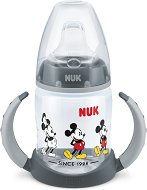 Неразливаща се чаша със силиконов накрайник и дръжки - Мики Маус 150 ml - За бебета над 6 месеца -