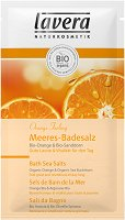 """Lavera Orange Feeling Bath Sea Salts - Соли за вана с био портокал и морски зърнастец от серията """"Orange Feeling"""" - маска"""