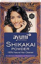 Шикакай на прах - Натурален шампоан против пърхот за всеки тип коса -