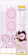Торбички за сладки и декорации - Cake in the city - Комплект от 24 части