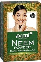 Нийм на прах - Антибактериален почистващ продукт за лице - пяна