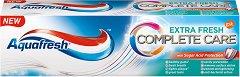 Aquafresh Complete Care Extra Fresh - Паста за зъби за защита от захарите - паста за зъби