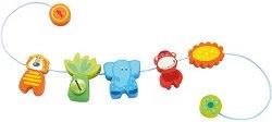 Джунгла - Дървена играчка за детска количка и легло - фигура