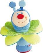Бръмбарчето Кай - Мека бебешка дрънкалка - играчка