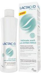 Lactacyd Pharma - Антибактериален интимен лосион - пинцета