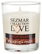 """Масажна свещ с аромат на шоколад - От серията """"Sezmar Collection Love"""" - душ гел"""