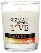 """Масажна свещ с аромат на манго - От серията """"Sezmar Collection Love"""" - масло"""