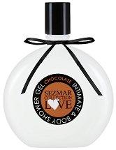 """Интимен душ гел с аромат на шоколад - От серията """"Sezmar Collection Love"""" - шампоан"""