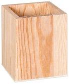 Дървен моливник - Предмет за декориране