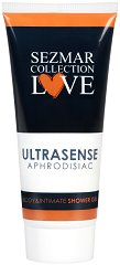 "Афродизиак душ гел за тяло и интимна зона - Ultrasense - От серията ""Sezmar Collection Love"" -"