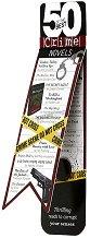 """Разделител за книга - Crime Novels - От серията """"50 of the best"""" -"""