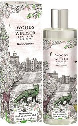 "Woods of Windsor White Jasmine Moisturizing Bath & Shower Gel - Хидратиращ гел за вана и душ от серията ""White Jasmine"" -"