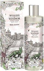 Woods of Windsor White Jasmine Moisturizing Bath & Shower Gel - мляко за тяло