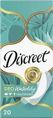 Discreet Deo Waterlily - Ежедневни дамски превръзки в опаковки от 20 ÷ 60 броя - крем